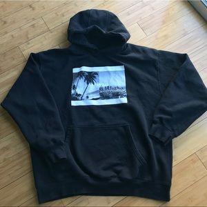 Other - Black hoodie with La Familia logo size XL